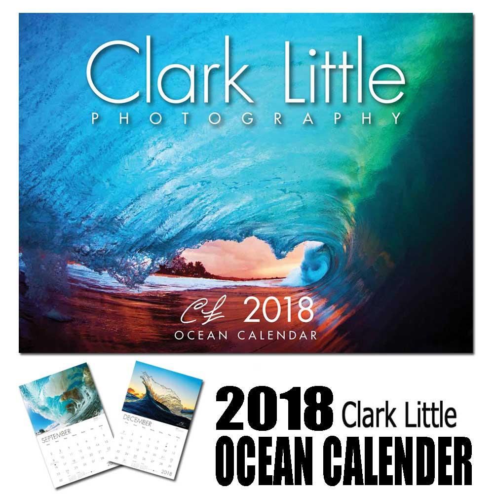 2018年 Clark Little OCEAN CALENDER