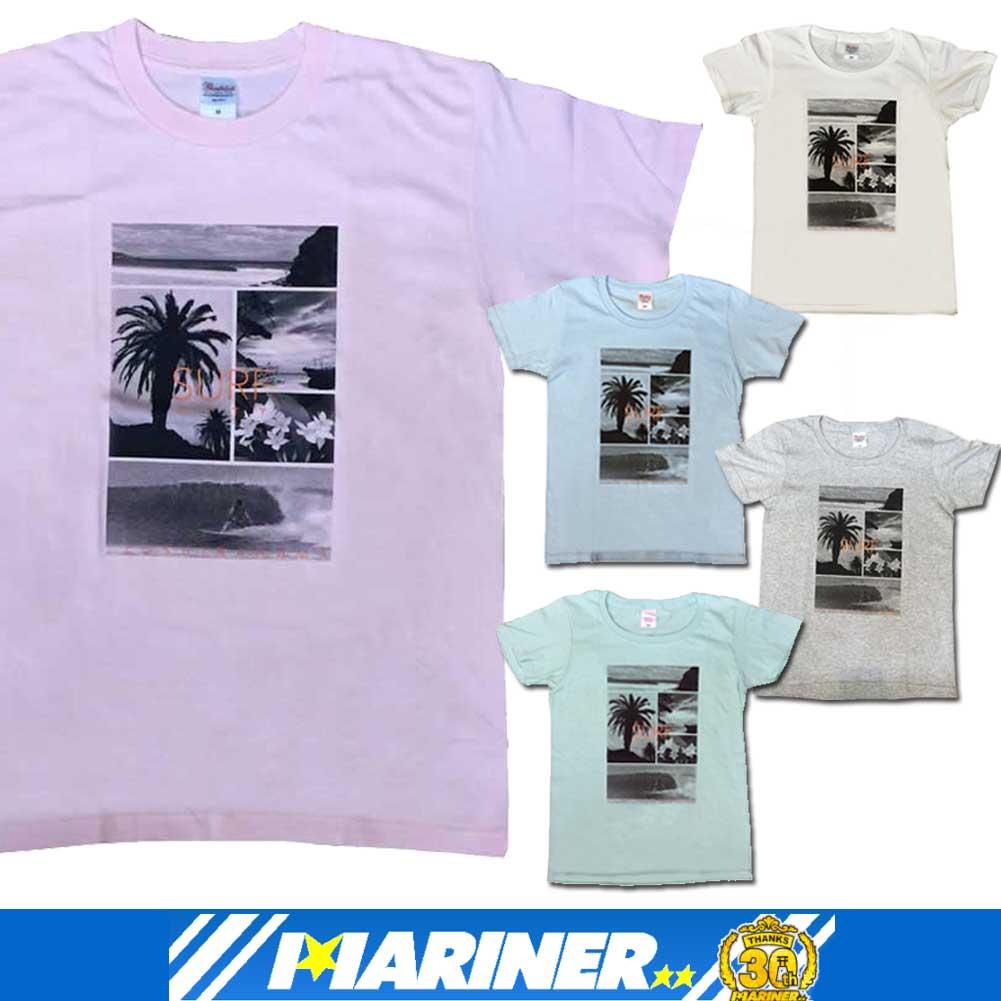白浜マリーナオリジナル 白浜Tシャツ SURF CITY