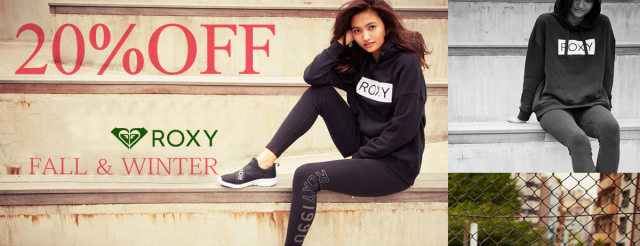 ROXY 20%OFF!!SALE